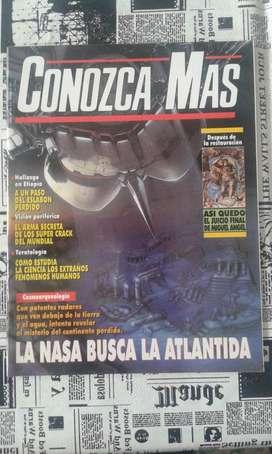 Revista Conozca Mas. Año 1994 Numero 68 La Nasa Busca La Atlantida