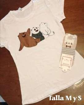 Camisas en algodón