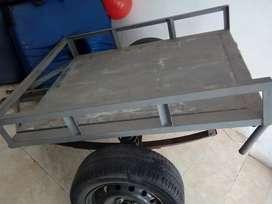 Vendo trailer para carro o moto$1500000