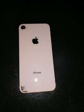 iPhone 8 rosado original libre de todo