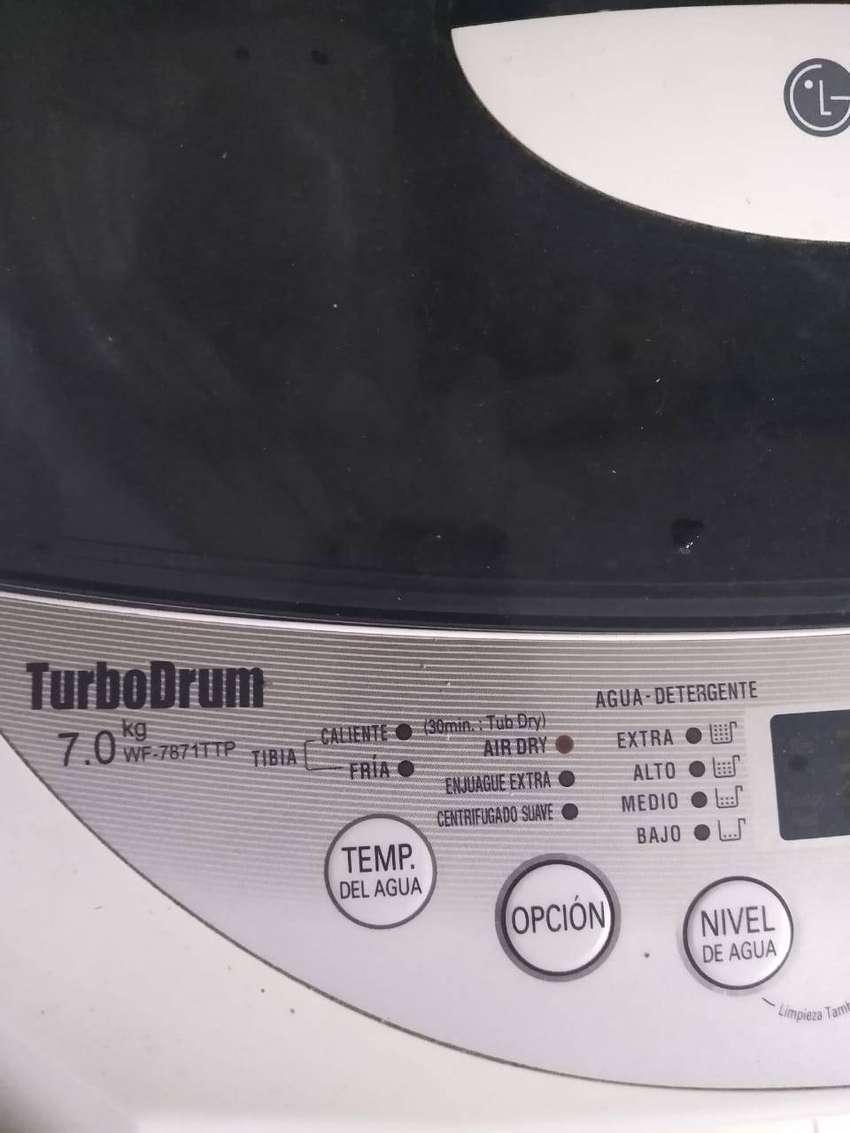 Lavarropa LG automático turbo Drum 0