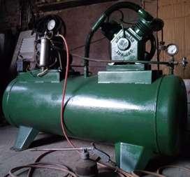 Compresor monofasico 2hp 200lt
