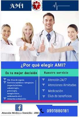 Atención Médica a Domicilio - AMI