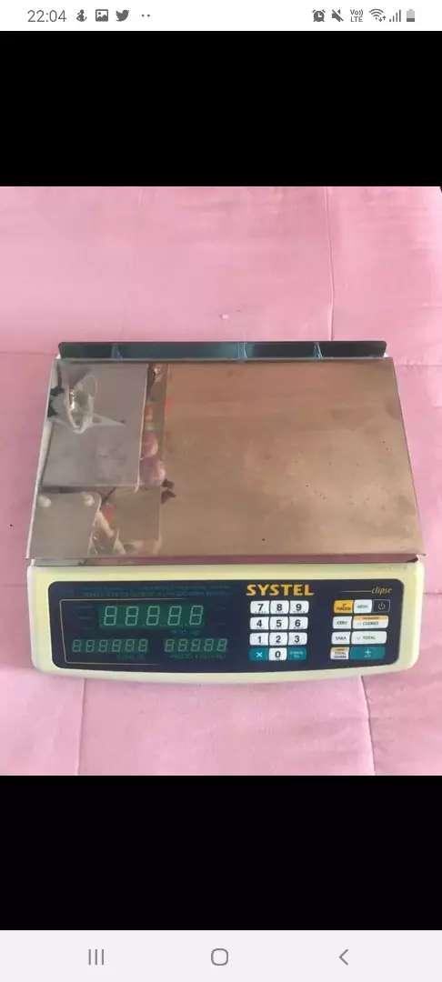 Vendo Balanza Systel hasta 35 kg 0