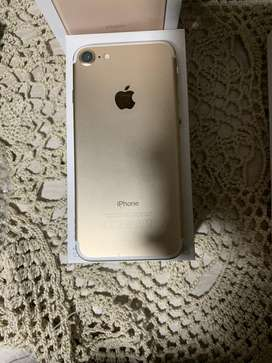 Iphone 7 - de 128 gb color dorado