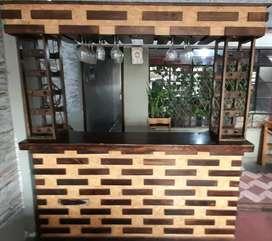 Barra / caja / mostrador para restaurante o bar
