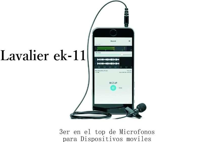 Micrófono Corbatero Ek-11 0