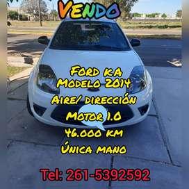 Vendo Ford Ka, única mano, impecable, 47.000, 2014