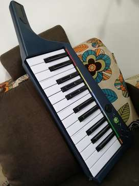 Keytar Controlador Midi X.box 360 Rokband organeta sintetizador
