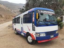 Marca MUDAN, modelo PEONY, color BLANCO-ROJO-AZUL, motor MITSUBISHI 4D35 Standar de 4 cilindros, con 26 asientos