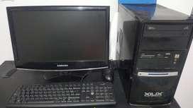 Computador Y Televisor