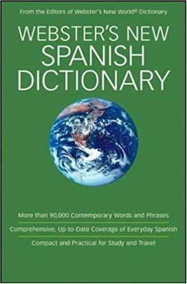 Diccionario Ingles - Español. Webster's New
