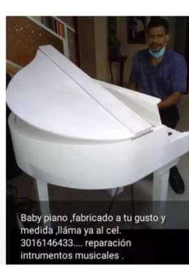 Fabricación d piano electro acústicos