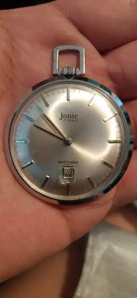 Reloj de bolsillo marca jonic suizo