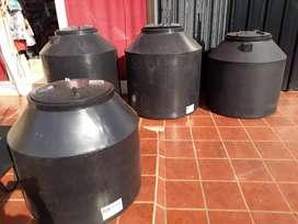 Tanques de agua nuevos