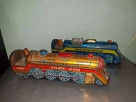 Tren antiguo o locomotora de coleccion