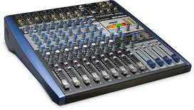 Consola digital presonus Studiolive AR12 estudio de grabacion
