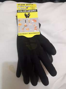 Guantes lavables y reusables