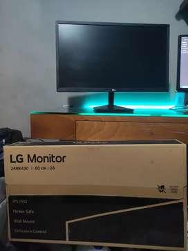 Monitor Gamer LG 24 mk430 1080p ips 75hz freesync Open box