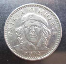 Moneda Cuba 3 pesos che guevara