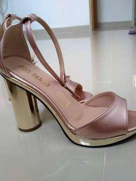 Zapatos Tacones rosa gold