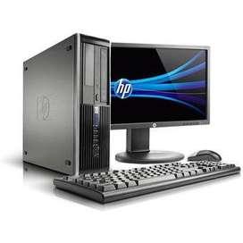 OFERTA PC HP CORPORATIVO CORE I5 CON MONITOR 19 GARANTÍA 6 MESES