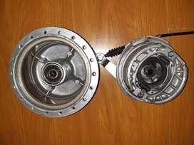 Campana y porta campana delanteros AX100