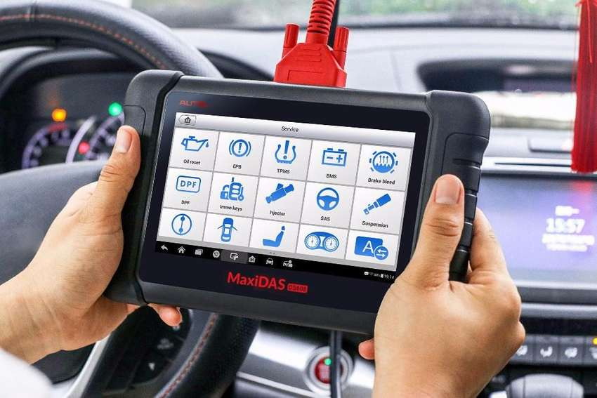 Scanner Automotriz Autel MAXICOM MK808 Profesional 2019 ORIGINAL Multimarca Escaner OBD 0