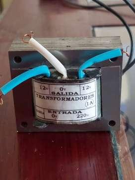 Transformador 220v AC - 12v AC 60hz