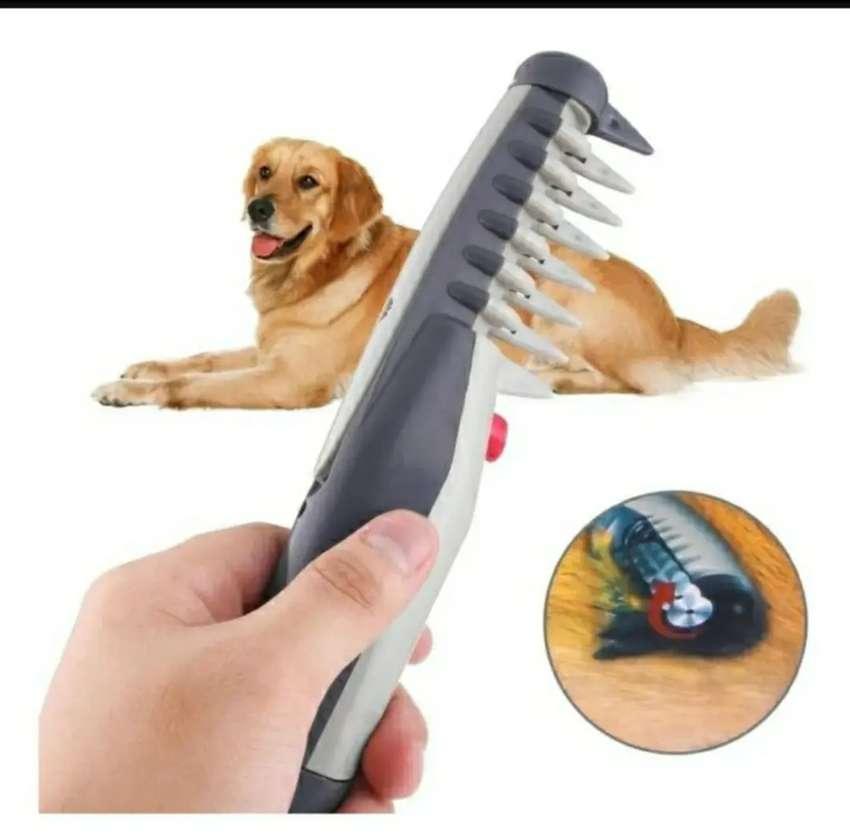 Cepillo peine eléctrico para eliminar quitar cortar nudos desenrredar el pelo de para mascotas perros y gatos knot out