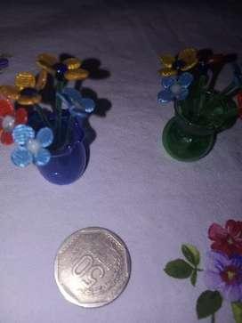 Murano miniatura floreros