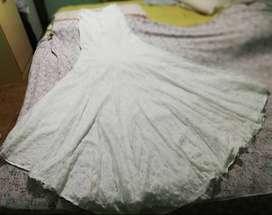 Excelente vestido de novia. Un solo uso.