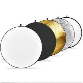 USADO-Reflector Neewer 5 en 1 110cm con funda