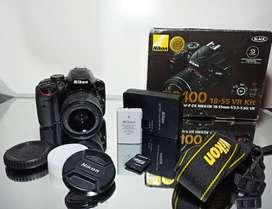 Oportunidad cámara DSLR Nikkon D3400!!