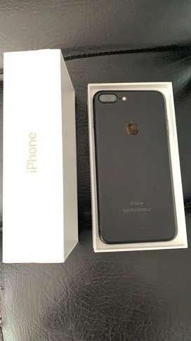 iPhone 7Plus 256Gb Negro En caja Perfecto Estado