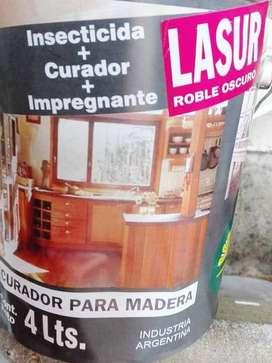 CURADOR MADERA 4L - COLORES CEDRO/ROBLE/CRISTAL - IMPERSOL