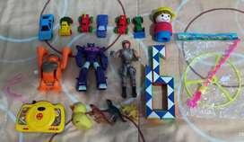 Remato todos estos juguetes