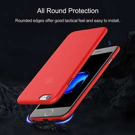 "Funda Case para iPhone 6/6S Plus Importada ""Rock"" Mate Rojo"