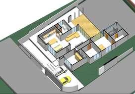 Arquitecto, PLANOS APROBADOS POR MUNICIPIO  Te entrego todos los Planos y permiso de construcción listo para construir