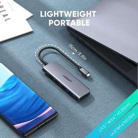 Hub Adaptador 6 En 1 Ugreen Tipo C MacBook