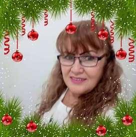 Cajera,administradora, pedicurista ycuidado adulto mayor mujer