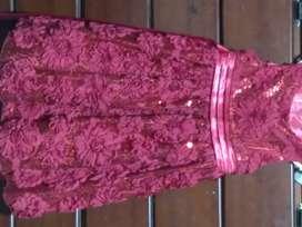 Vestido de niña 7-8 años