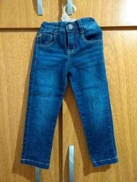 Jeans Bb Talle 2 Marca Chubby