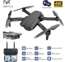 DRONE NYR- E99 PRO2, CAMARA DUAL 4K