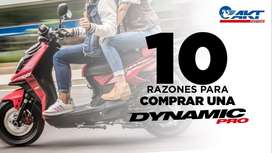 Moto Aventurera Dynamic Pro Guerrera 2018