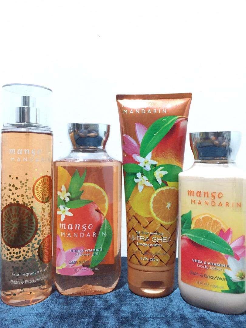 Bath and body works Mango mandarin