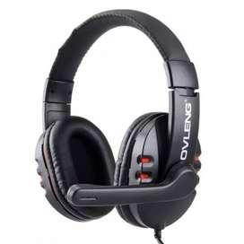 Audífonos Diadema Gamer Ov-p3 Micrófono Cancelación De Ruido
