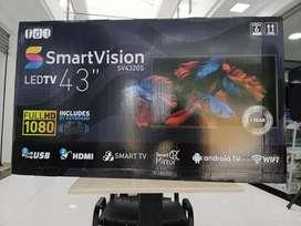 "Televisor Smart TV de 42"" súper económico"