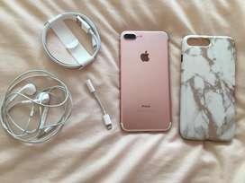 Iphone 7plus rose 128g
