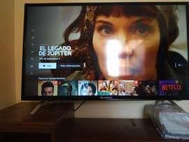 "Vendo tv Smart tv 43"" si tdt casi nuevo $800mil"